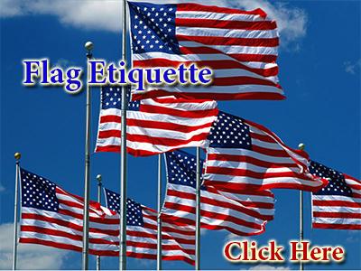 Flag Etiquette....